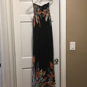Maxi dress. Like new. Worn only once.